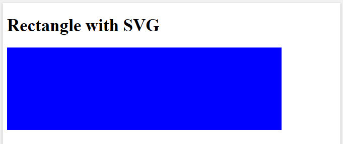 HTML5 Features - SVG