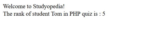 PHP Function Parameters Default Value
