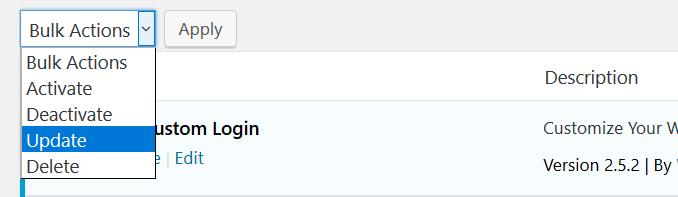 Update Multiple WordPress Plugins