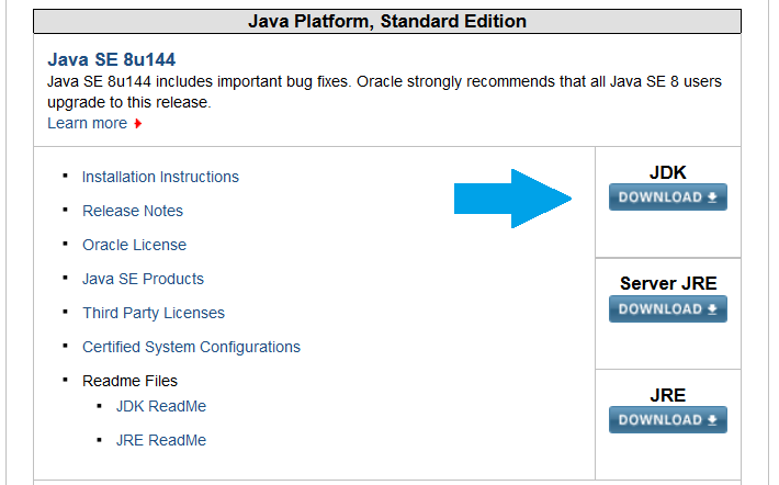 Download Java JDK